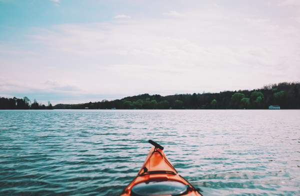 A canoe from a stock image site.