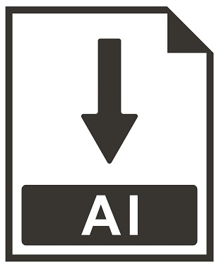 A picture of the AI file extension.
