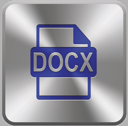 The DOCX document file icon.