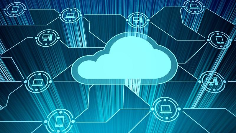 A picture of a digital cloud.
