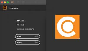 Ein Screenshot des Adobe Illustrators.