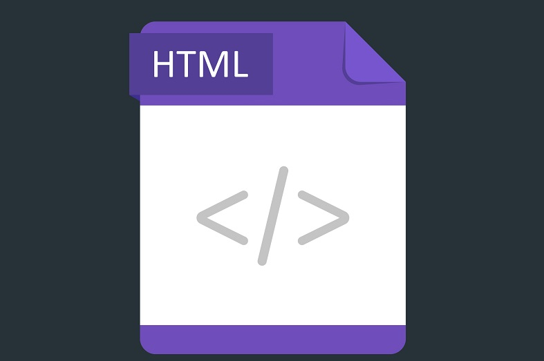 A picture of the HTML icon.