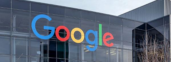 Der Firmensitz von Google.