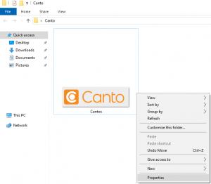 Ein Screenshot, der zeigt, wie ein Computerbenutzer ein Menü aufruft.