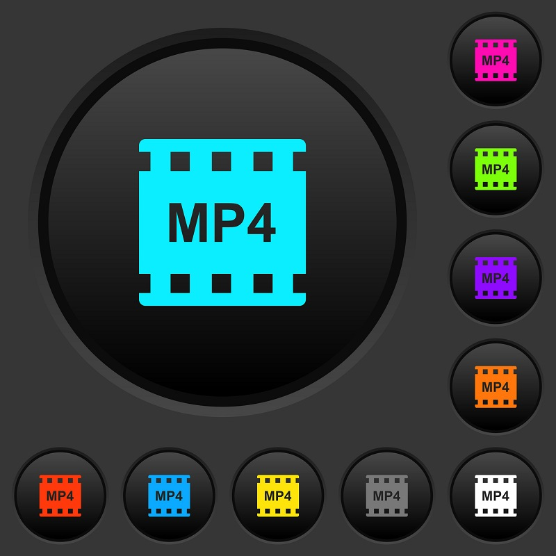 The MP4 file icon.