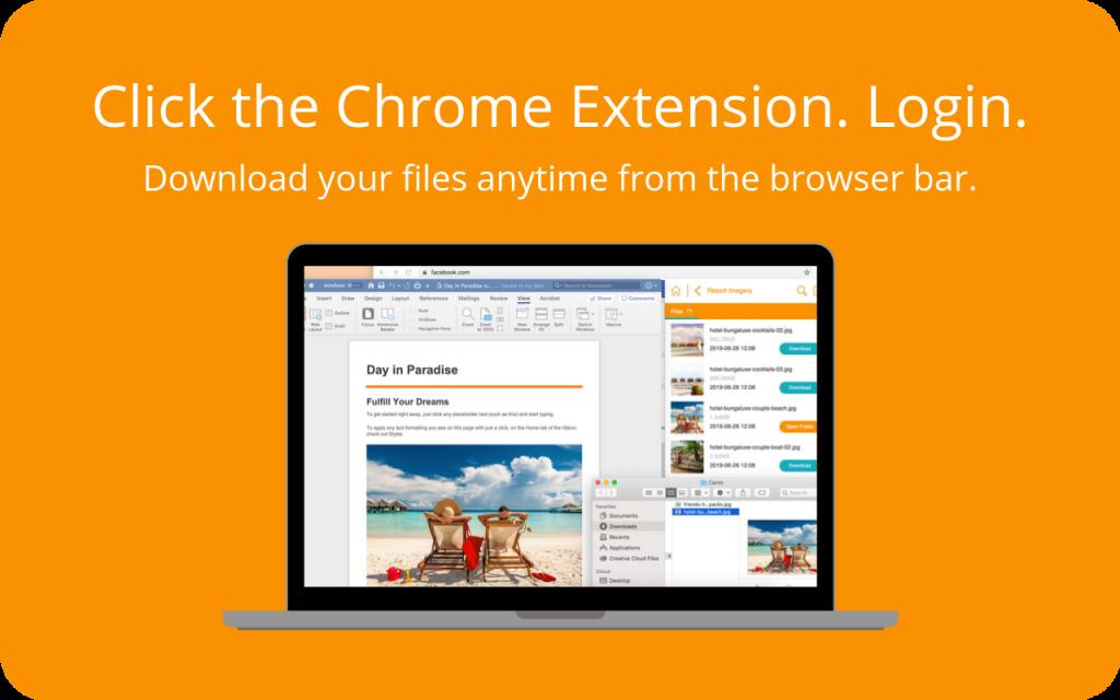 Canto Chrome extension