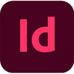 The logo of Adobe InDesign.