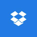 Das Logo von Dropbox.