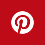 The logo of Pinterest.