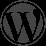 Das Logo von WordPress.