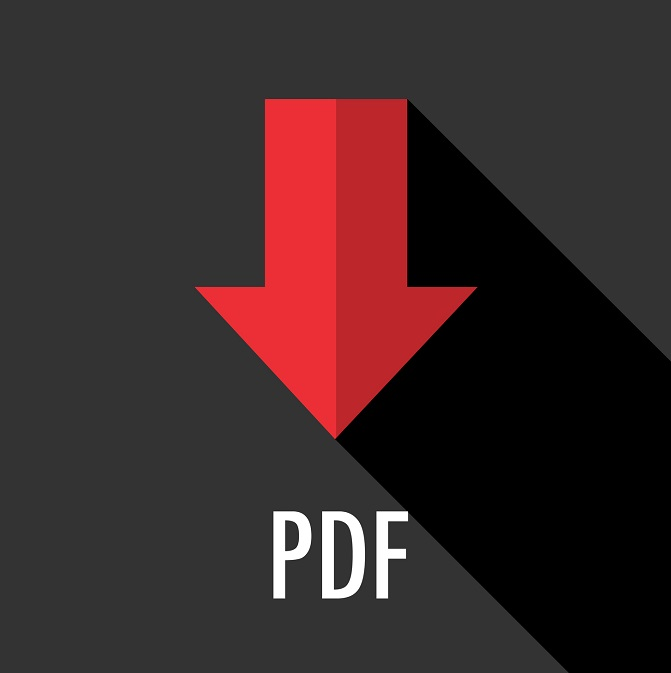The PDF file icon.