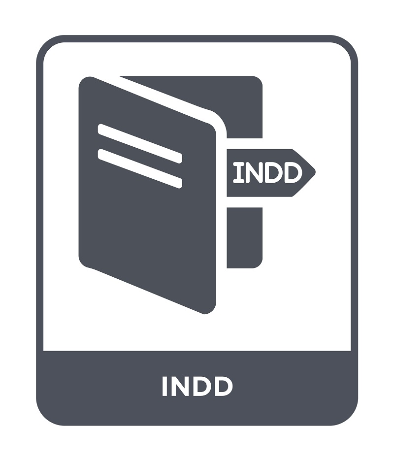 The INDD file icon.