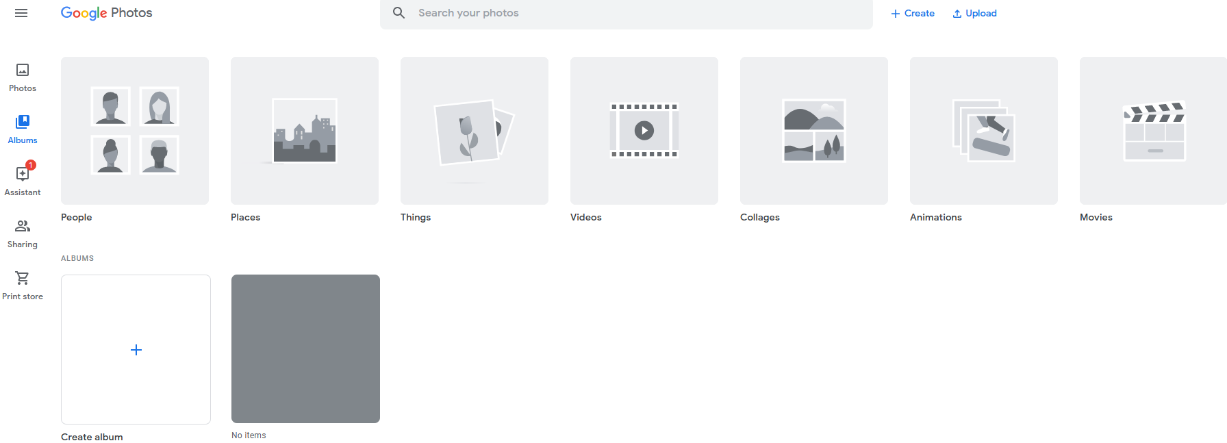 A screenshot of Google Photos.