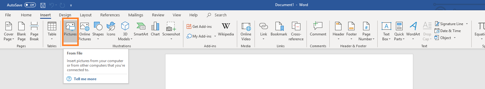 A screenshot of Microsoft Word.