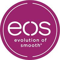 The logo of EOS.
