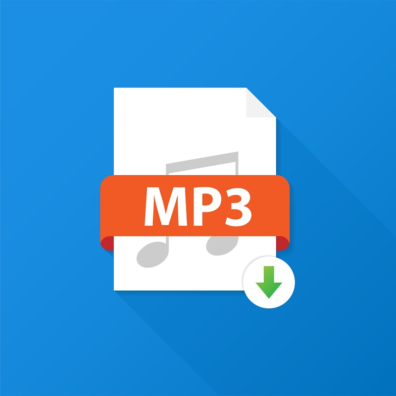 A file icon of the Mp3.