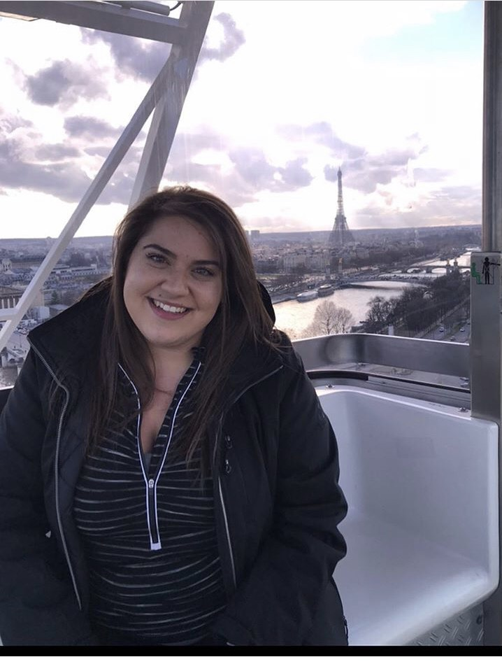 Rachel Pisarevich in Paris.