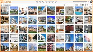 Ein Screenshot des Digital Asset Management-Systems von Canto.