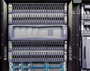Eine Abbildung eines Computerservers einer Data Storage Solution.