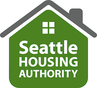 The logo of Seattle Housing Authority.