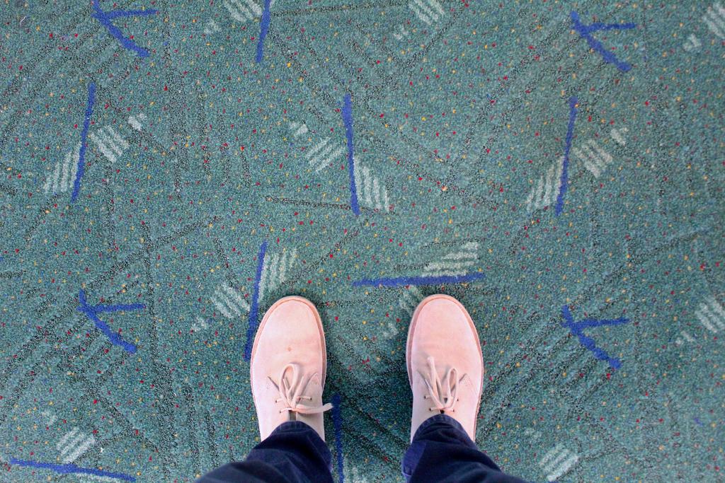 "Obligatory ""PDX Carpet Selfie"": #pdxcarpet"