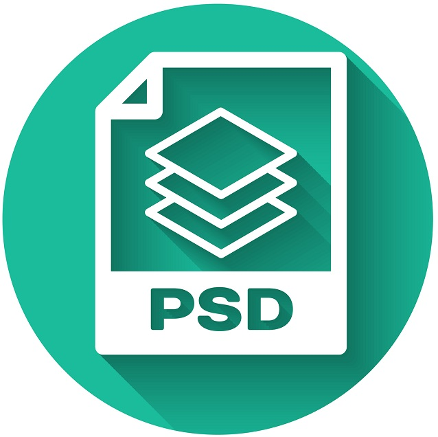 An icon of the PSD image file.