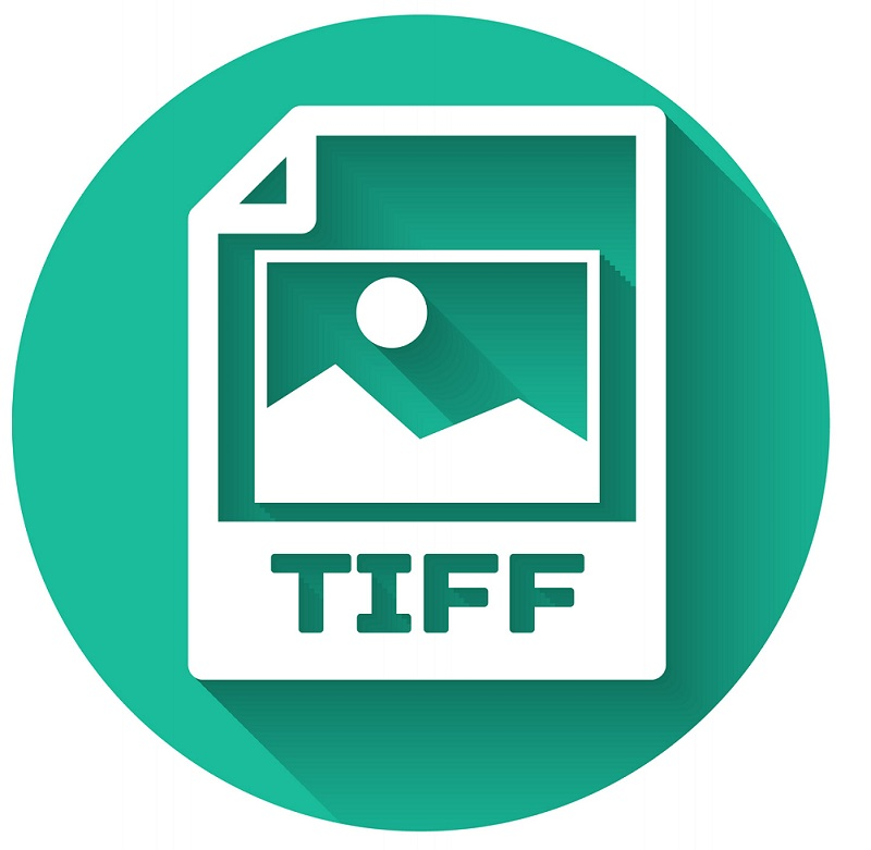 A picture of the TIFF file icon.