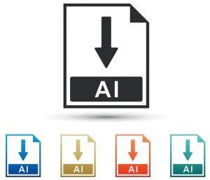 Ein Screenshot des Logos für das Bildformat .ai.
