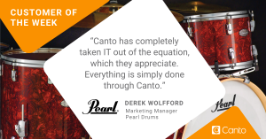 Quote from Pearl Drums