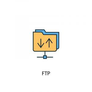 Ein animiertes Logo für das File Transfer Protocol.