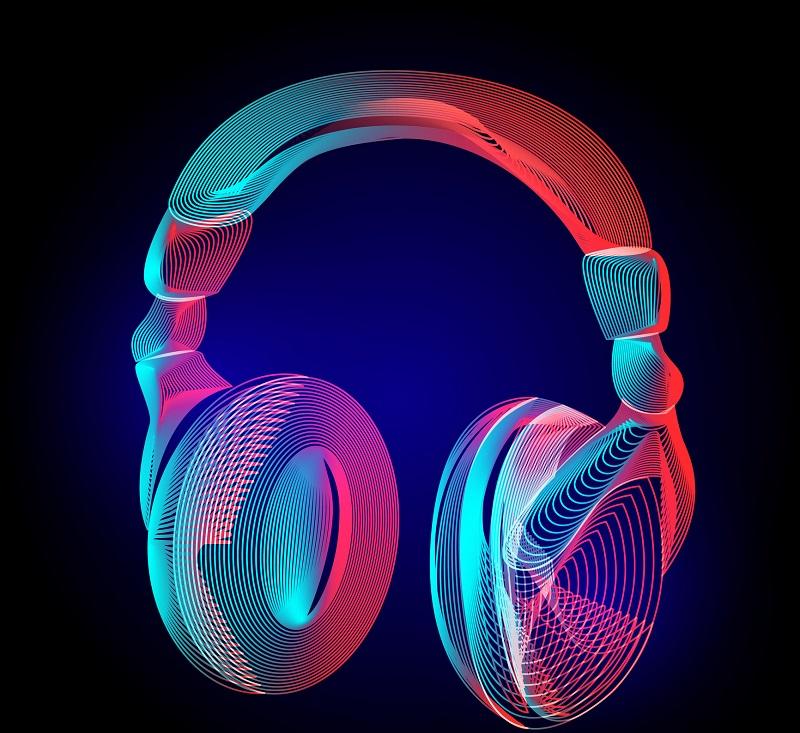 Digital headphones.