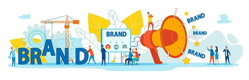An illustration of branding.