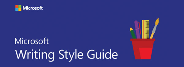 The Microsoft style guide.