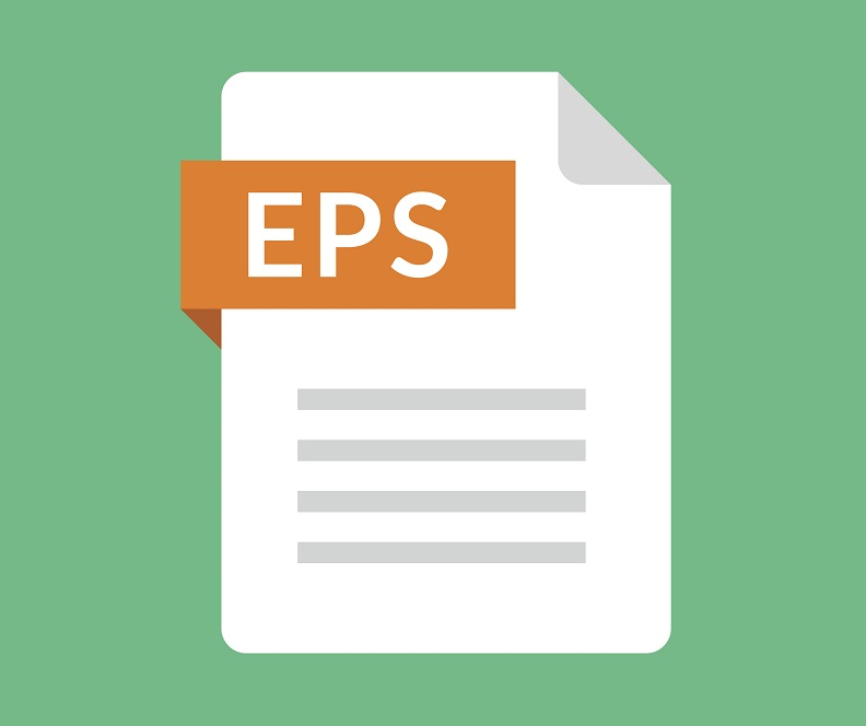 A picture of the EPS file icon.
