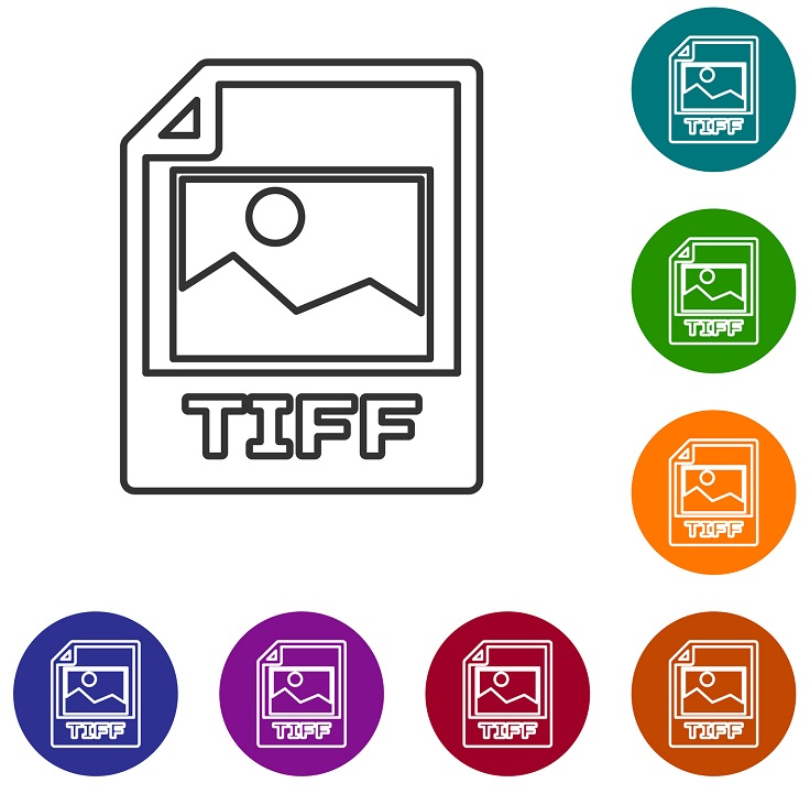 A picture of the TIFF icon.
