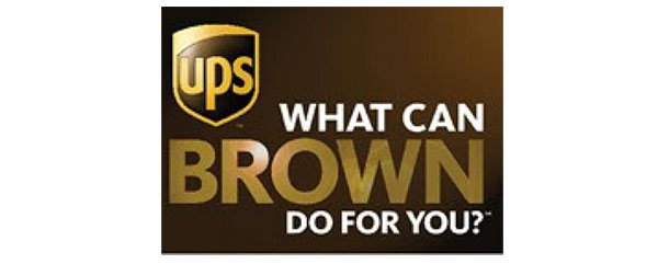 The UPS former slogan.