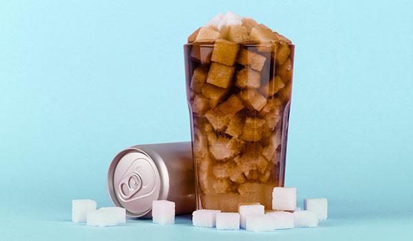 A sugar cube-filled soda.