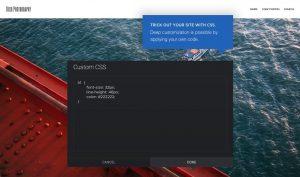 Ein Bildschirmfoto der Benutzeroberfläche von SmugMug, eine Anwendung, mit der man Bilder sicher teilen kann.