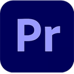The logo of Premiere Pro.