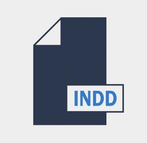 Eine Abbildung des INDD-Logos.