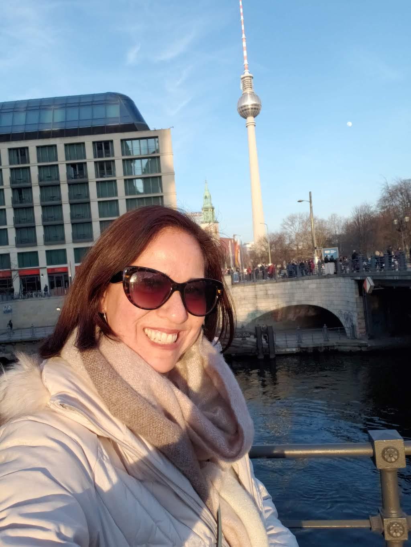 Leslie in Berlin!