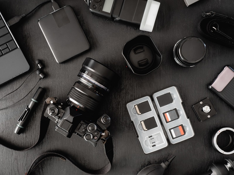 A collection of camera tools.