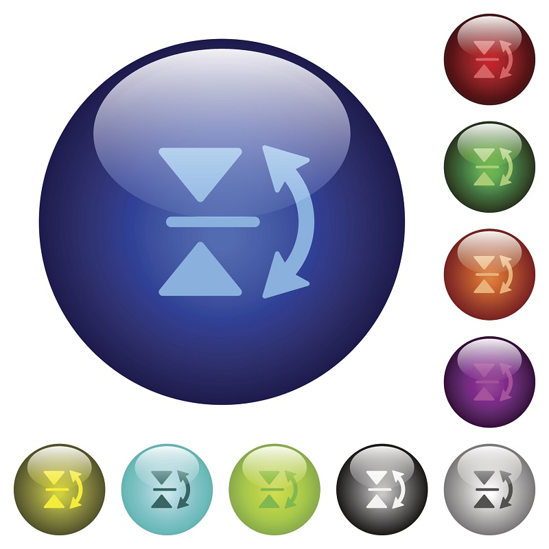 A group of conversion icons.