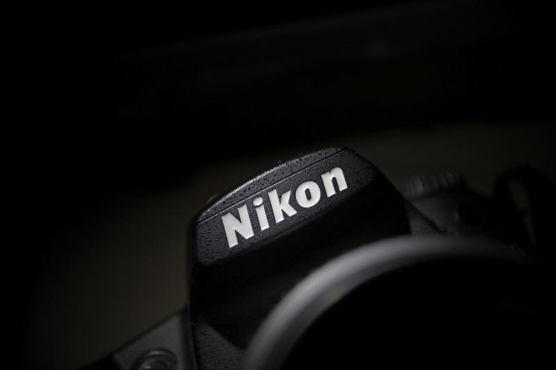A picture of a Nikon camera.