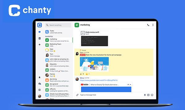 Screenshot of Chanty