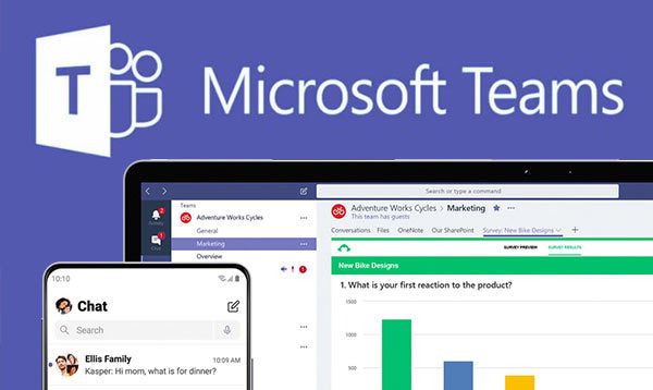 Screenshot of Microsoft Teams