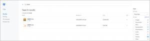 Ein Screenshot von Dropbox, der Kernanwendung für den Dropbox Cloud-Speicher.
