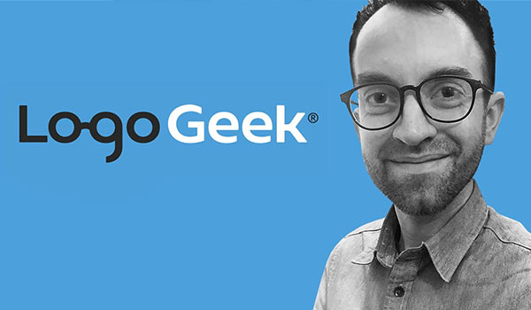 The 'Logo Geek' podcast image.