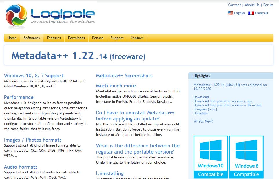The Metadata++ software tool.