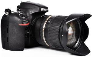 Ein Bild einer Nikon-Kamera.